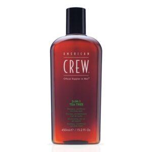 Hair-Mechanics-Newcastle-American-Crew-3-in-1-tea-tree-450ml